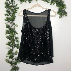 Jessica Simpson Sequin Blouse